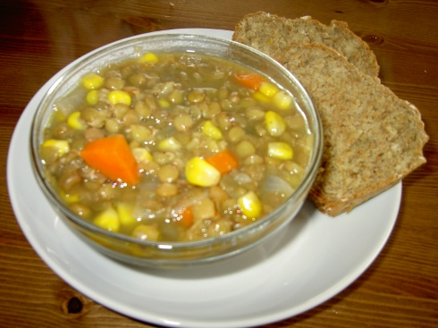 lentil-soup-and-beer-bread